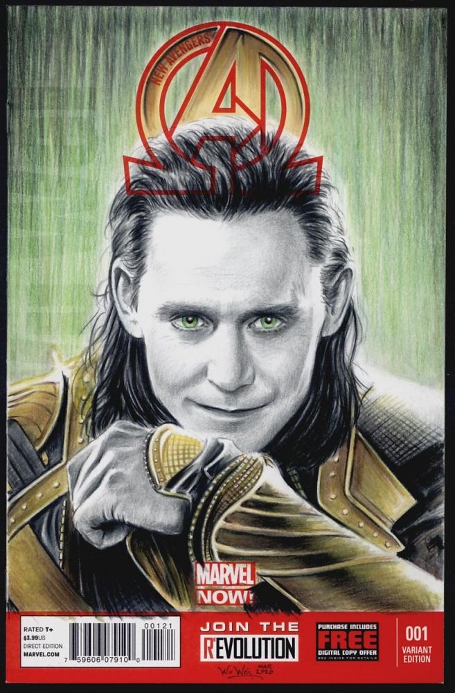 Tom Hiddleston by wu-wei